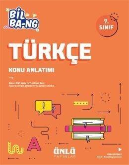 Ünlü Yayıncılık 7. Sınıf Türkçe Bil Bang Konu Anlatım