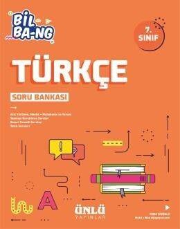 Ünlü Yayıncılık 7. Sınıf Türkçe Bil Bang Soru Bankası