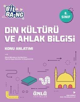 Ünlü Yayıncılık 8. Sınıf LGS Din Kültürü ve Ahlak Bilgisi Bil Bang Konu Anlatım