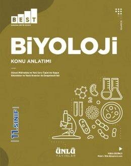 Ünlü Yayıncılık 11. Sınıf Biyoloji BEST Konu Anlatımlı