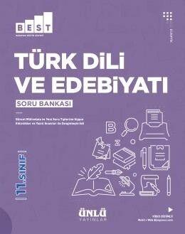 Ünlü Yayıncılık 11. Sınıf Türk Dili ve Edebiyatı BEST Soru Bankası