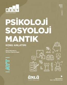 Ünlü Yayıncılık AYT Psikoloji Sosyoloji Mantık BEST Konu Anlatım