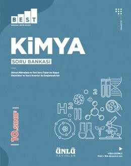Ünlü Yayıncılık 10. Sınıf Kimya BEST Soru Bankası