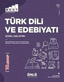 Ünlü Yayıncılık 10. Sınıf Türk Dili ve Edebiyatı BEST Konu Anlatım