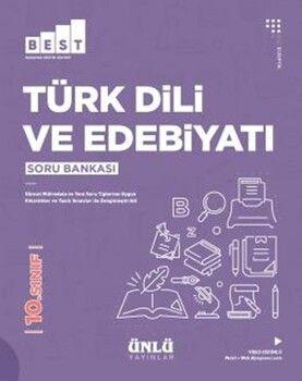Ünlü Yayıncılık 10. Sınıf Türk Dili ve Edebiyatı BEST Soru Bankası