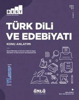 Ünlü Yayıncılık 11. Sınıf Türk Dili ve Edebiyatı BEST Konu Anlatım