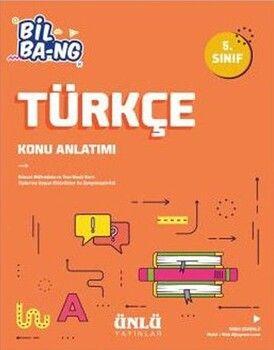 Ünlü Yayıncılık 5. Sınıf Türkçe Bil Bang Konu Anlatım