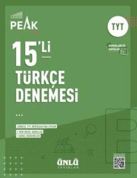 Ünlü Yayıncılık TYT Türkçe Best Peak 15 li Denemesi