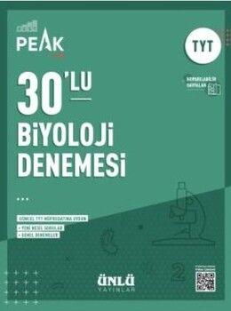 Ünlü Yayıncılık TYT Biyoloji Best Peak 30 lu Denemesi
