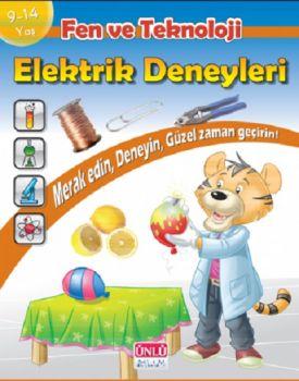 Ünlü Yayınları Elektrik Deneyleri Kitabı 9 - 14 Yaş