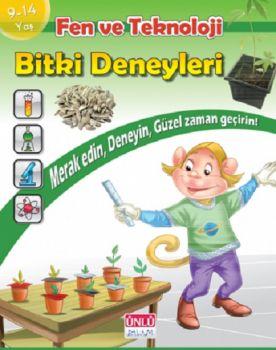 Ünlü Yayınları Bitki Deneyleri Kitabı 9 - 14 Yaş