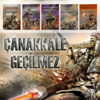 Ünlü Yayınları Çanakkale Serisi 5 Kitap Takım