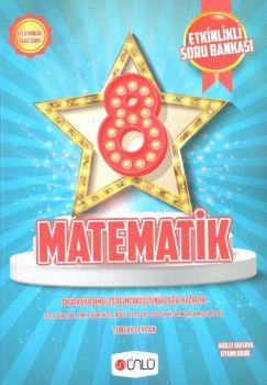 Ünlü Yayınları 8. Sınıf Matematik Etkinlikli Soru Bankası