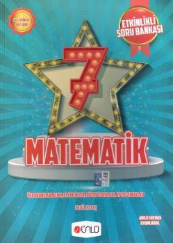 Ünlü Yayınları 7. Sınıf Matematik Etkinlikli Soru Bankası