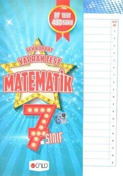 Ünlü Yayınları 7. Sınıf Matematik Çek Kopart Yaprak Test