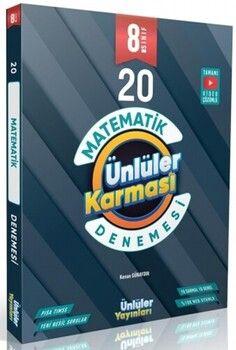 Ünlüler Karması 8. Sınıf Matematik 20 Branş Deneme