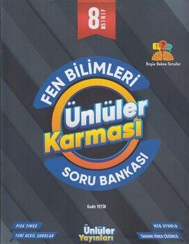 Ünlüler Yayınları 8. Sınıf Fen Bilimleri Soru Bankası