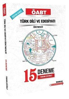 İbrahim Kılıç YayınlarıÖABT Türk Dili ve Edebiyatı Öğretmenliği Aşiyan 15 Deneme