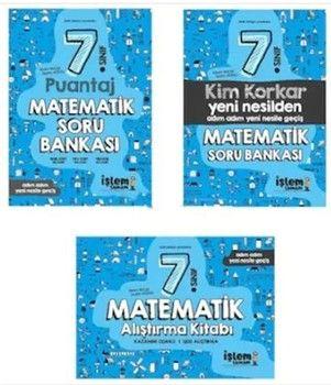 İşlem Tamam Yayınları 7. Sınıf Matematik Soru Bankası Seti
