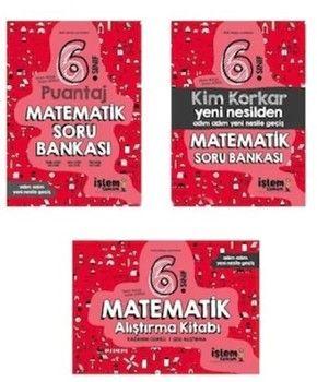 İşlem Tamam Yayınları 6. Sınıf Matematik Soru Bankası Seti