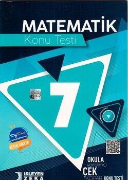 İşleyen Zeka 7. Sınıf Matematik Konu Testi