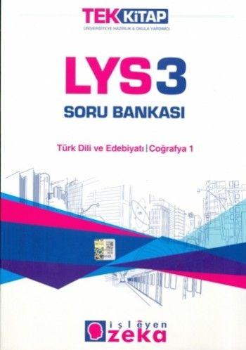 İşleyen Zeka Tek Kitap LYS  3 Soru Bankası