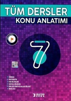 İşleyen Zeka Yayınları 7. Sınıf Tüm Dersler Konu Anlatımı