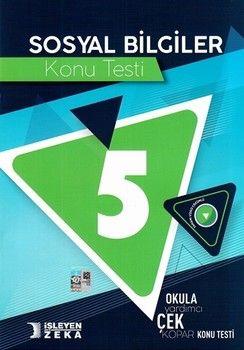 İşleyen Zeka Yayınları 5. Sınıf Sosyal Bilgiler Konu Testi