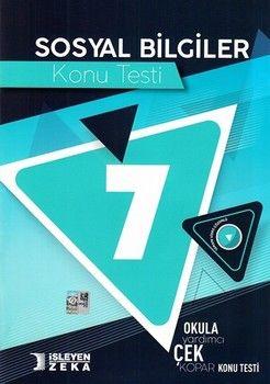 İşleyen Zeka Yayınları 7. Sınıf Sosyal Bilgiler Konu Testi