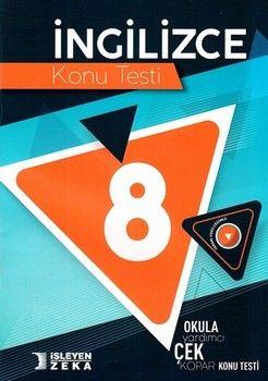 İşleyen Zeka Yayınları 8. Sınıf İngilizce Konu Testi
