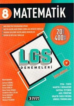 İşleyen Zeka Yayınları 8. Sınıf LGS Matematik Denemeleri
