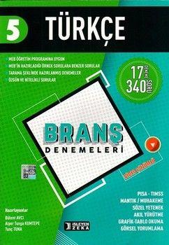 İşleyen Zeka Yayınları 5. Sınıf Türkçe Branş Denemeleri