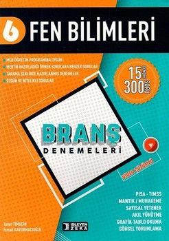 İşleyen Zeka Yayınları 6. Sınıf Fen Bilimleri Branş Denemeleri