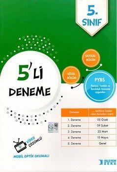 İşleyen Zeka Yayınları 5. Sınıf PYBS 5 li Deneme