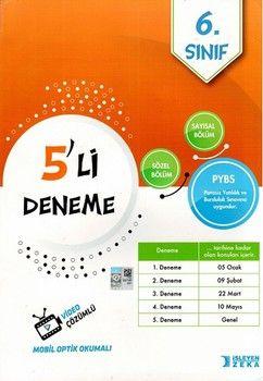 İşleyen Zeka Yayınları 6. Sınıf PYBS 5 li Deneme