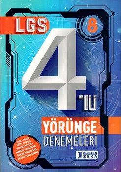 İşleyen Zeka Yayınları 8. Sınıf LGS 4 lü Yörünge Denemeleri