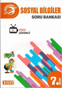 İşleyen Zeka Yayınları 7. Sınıf Yörünge Sosyal Bilgiler Soru Bankası