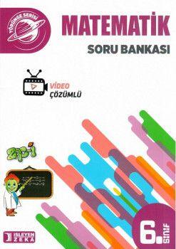 İşleyen Zeka Yayınları 6. Sınıf Matematik Soru Bankası
