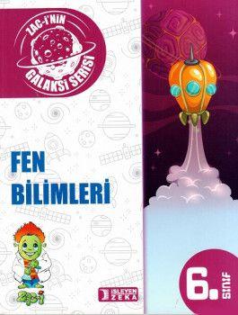 İşleyen Zeka Yayınları 6. Sınıf Galaksi Serisi Fen Bilimleri