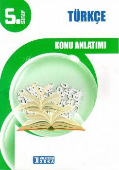 İşleyen Zeka Yayınları 5. Sınıf Türkçe Konu Anlatımlı