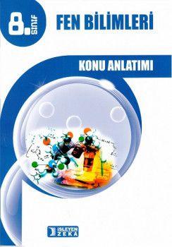 İşleyen Zeka Yayınları 8. Sınıf Fen Bilimleri Konu Anlatımlı