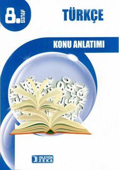 İşleyen Zeka Yayınları 8. Sınıf Türkçe Konu Anlatımlı