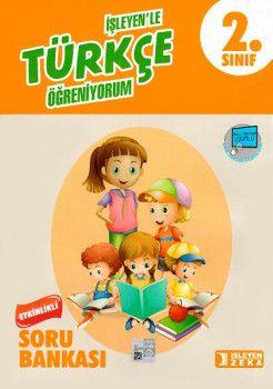 İşleyen Zeka Yayınları 2. Sınıf Türkçe Etkinlikli Öğreniyorum Soru Bankası