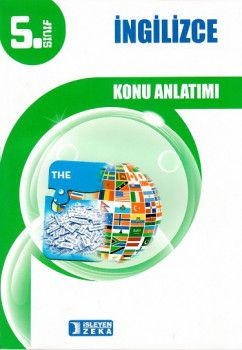 İşleyen Zeka Yayınları 5. Sınıf İngilizce Konu Anlatımlı