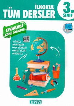 İşleyen Zeka Yayınları 3. Sınıf Tüm Dersler Etkinlikli Öğreniyorum Konu Anlatımlı