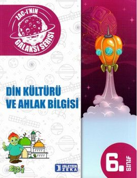 İşleyen Zeka Yayınları 6. Sınıf Galaksi Serisi Din Kültürü ve Ahlak Bilgisi