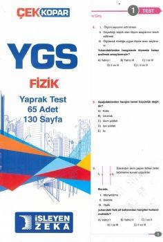 İşleyen Zeka YGS Fizik Çek Kopar Yaprak Test