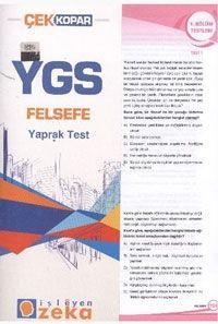 İşleyen Zeka YGS Felsefe Yaprak test