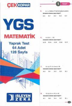 İşleyen Zeka YGS Matematik Çek Kopar Yaprak Test