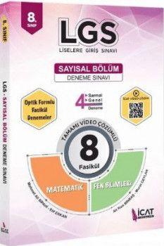 İcat Yayınları 8. Sınıf LGS Sayısal Bölüm Deneme Sınavı